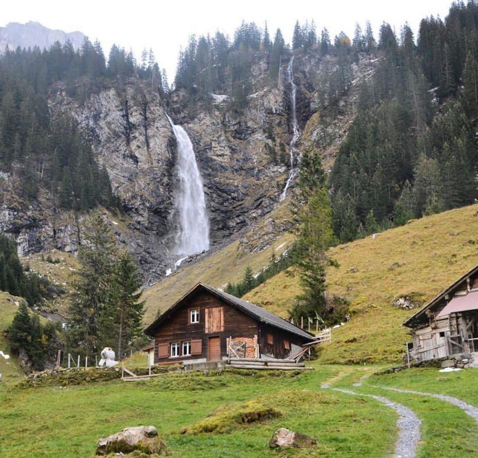صور جمال الطبيعة في الريف السويسري