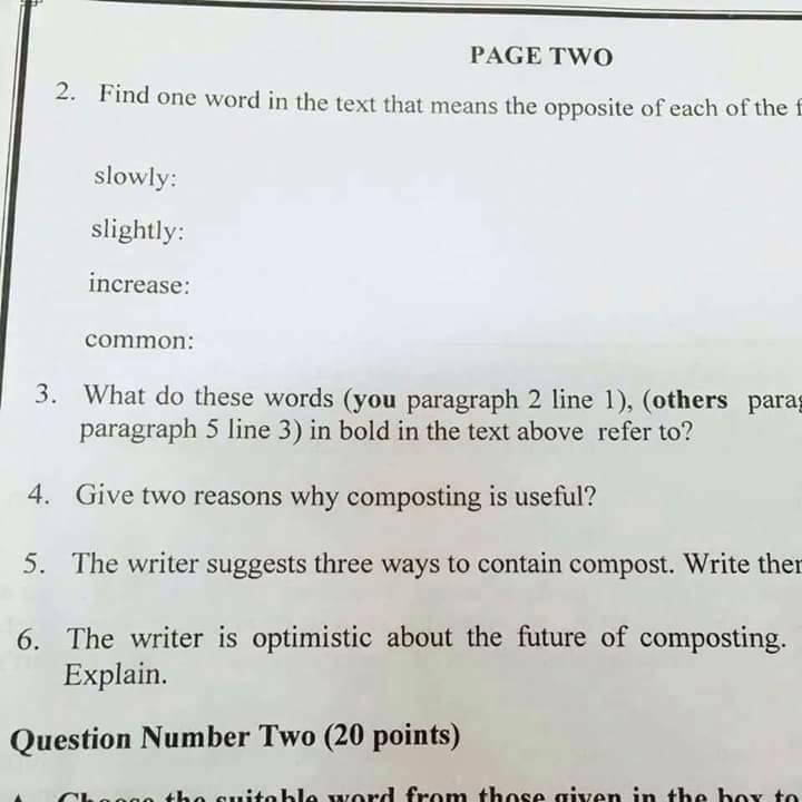صور اختبار تخصص اللغة الانجليزية التنافسي للتعين في وزارة التربية والتعليم