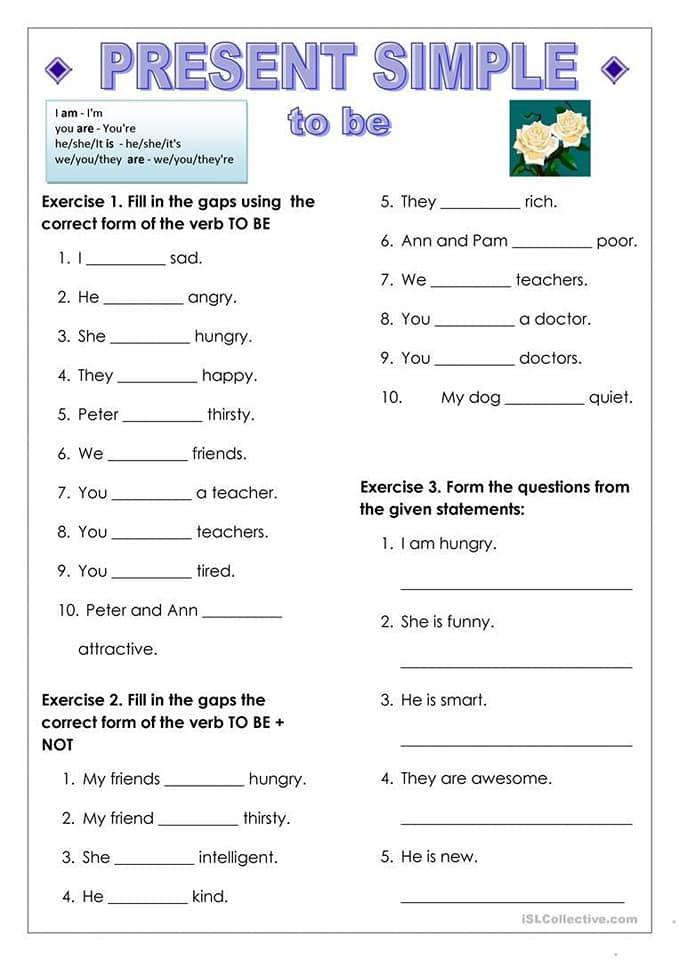 بالصور اوراق عمل درس المضارع البسيط Present Simple مادة اللغة الانجليزية