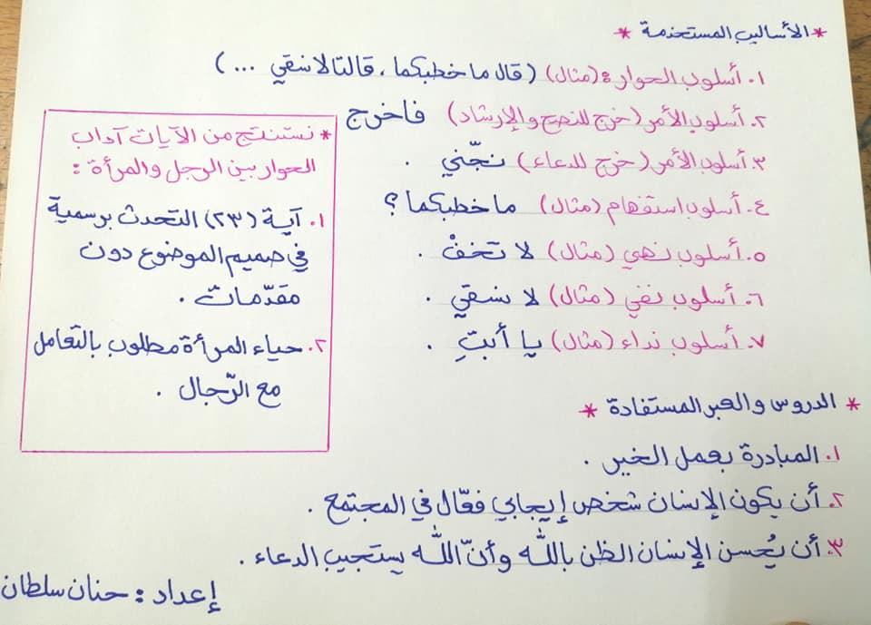 معاني و افكار و اساليب درس المبادرة و الايجابية مادة اللغة العربية للصف الثامن الفصل الاول 2020